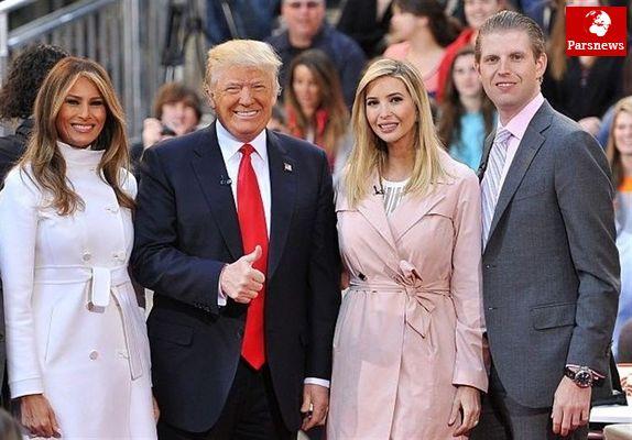 جلوگیری از یک رسوایی خانواده ترامپ/ کاخ سفید مجددا دچار دردسر شده است