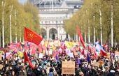 جزئیات تظاهرات در لندن