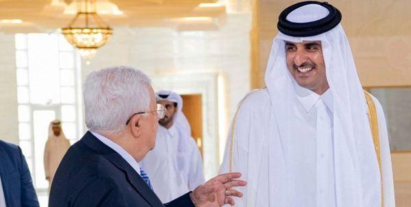 پناه بردن «محمود عباس» به قطر برای فرار از فشار قاهره و ریاض