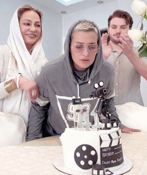 تولد لاکچری همسر سابق امین حیایی در کنار پسرش + عکس