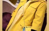 نیوشا ضیغمی با تیپی زرد رنگ + عکس