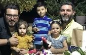 برادران کیایی و فرزندانشان + عکس