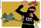 حملات مهلک آمریکا به داعش!