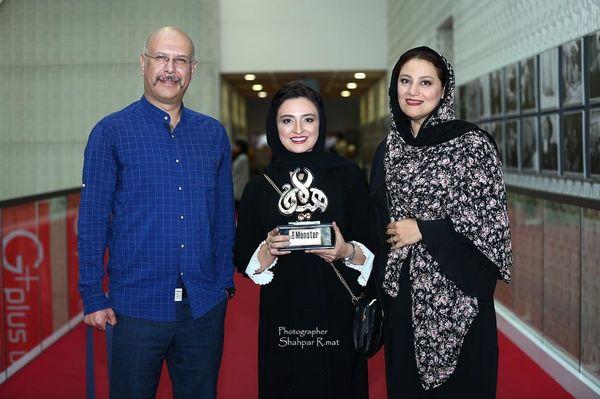 حضور جناب خان در جمع سوینا+عکس