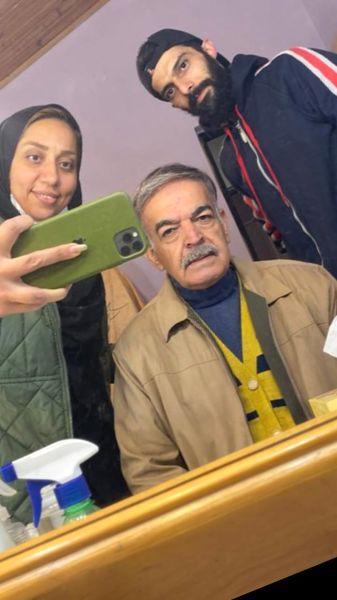 حمید لولایی با گریم جدید + عکس