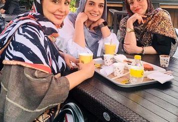 کافه گردی با طعم غیبت الیکا عبدالرزاقی+عکس