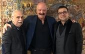 سپند امیرسلیمانی در کنار دو سعید بزرگ سینما+عکس