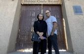 حدیثه تهرانی و همسرش در سفر + عکس