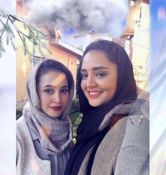 عکس زیبایی از نرگس محمدی و الناز حبیبی