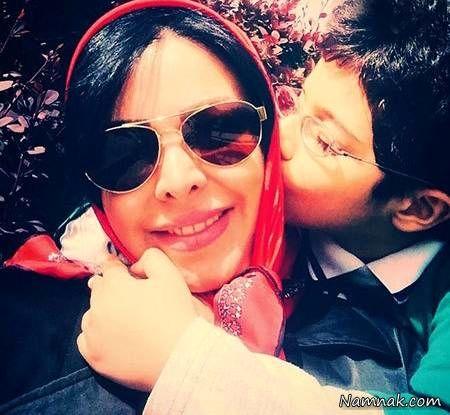 فلور نظری و خواهرزاده مهربانش+عکس