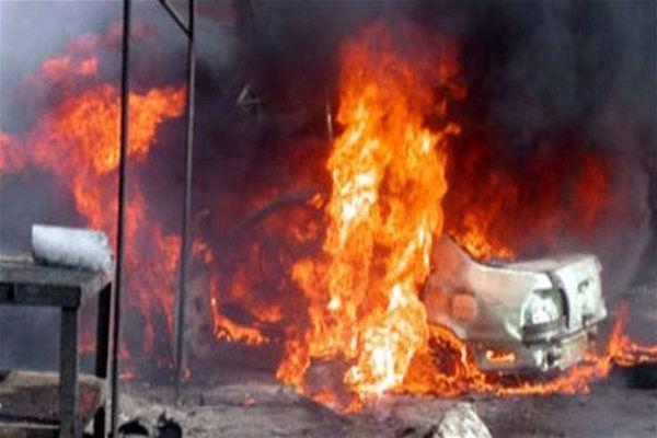 انفجار بمب در مقابل بیمارستان سراوان