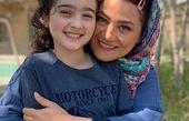 شبنم مقدمی و فرشته ی هیولا+عکس