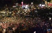 جشن مردم سوریه پس از اعلام پیروزی بشار اسد+ تصاویر