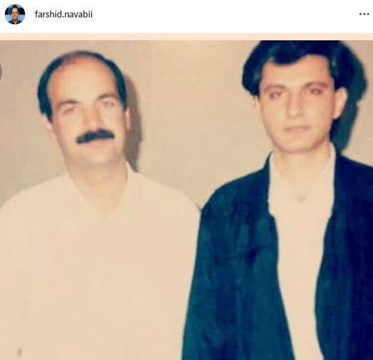 همسر سابق الهام چرخنده در کنار آقای مجری کلاه قرمزی + عکس