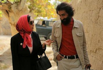 قدم زدن سهراب سپهری و بهاره کیان افشار +عکس