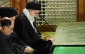 رهبر انقلاب در حرم امام خمینی(ره) حضور یافتند