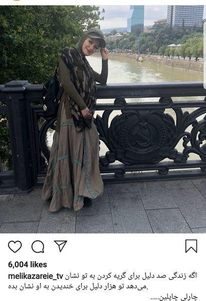 پوشش کامل خاله شادونه در خارج از کشور + عکس