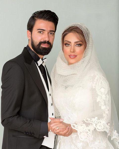 ازدواج بازیگر مشهور تلویزیون + عکس