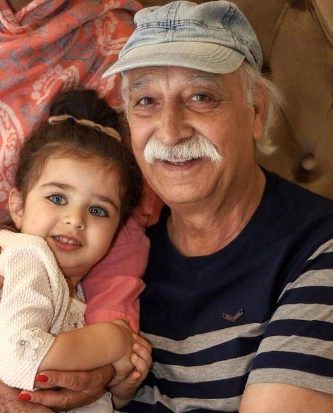 نوه زیبای محمود پاک نیت + عکس