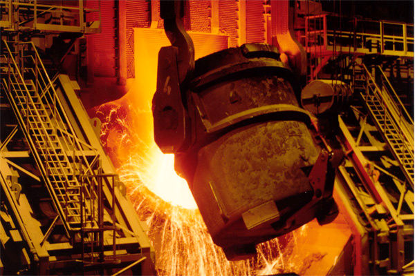 رشد 20 درصدی تولید فولاد خام ایران