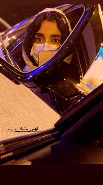 گردش های شبانه الهه حصاری + عکس