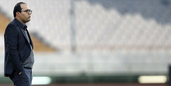 نشست خبری سرمربی مس رفسنجان بعد از بازی با استقلال