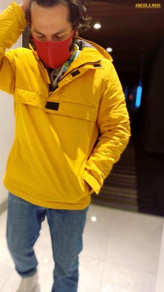 استایل زرد رنگ عباس غزالی + عکس