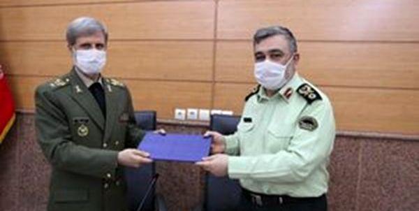 تقویت قدرت ناجا در دستور کار وزارت دفاع