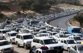 آخرین وضعیت ترافیک جادهای؛ یکشنبه هشتم فروردین ۱۴۰۰