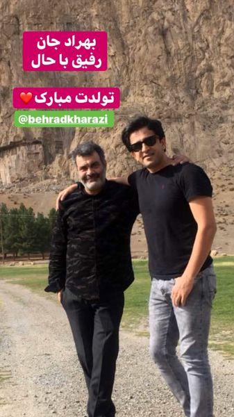 تبریک تولد مجید یاسر به دوست معروفش + عکس