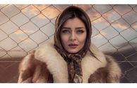 تعریف و تمجید ساره بیات از رضا قوچان نژاد/ عکس
