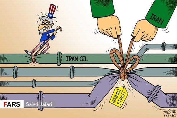گلوگاه نفت جهان در اختیار ایران