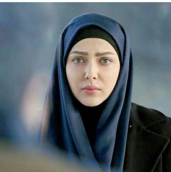 عکس لیلا اوتادی با حجابی متفاوت