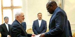سفیر جدید سنگال رونوشت استوارنامه خود را تقدیم ظریف کرد