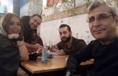 امیرمنش و همکارانش در یک رستوران + عکس