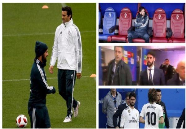 دلیل نیمکتنشین شدن ایسکو در رئال مادرید فاش شد