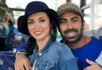 عکسی که روناک یونسی در روز عشق از خود و همسرش منتشر کرد