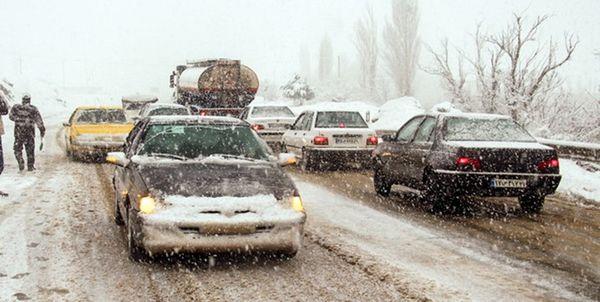 وقوع برف و کولاک در 15 استان کشور
