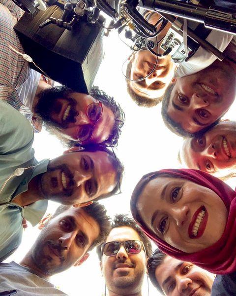 شبنم مقدمی در جمع دوستانش + عکس