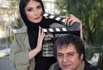 آقای کارگردان در کنار همسر بازیگرش/عکس