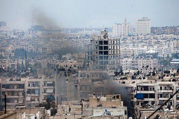 دمشق هدف حمله موشکی تروریست ها قرار گرفت