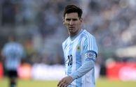 تمرینات لیونل مسی با تیم ملی آرژانتین
