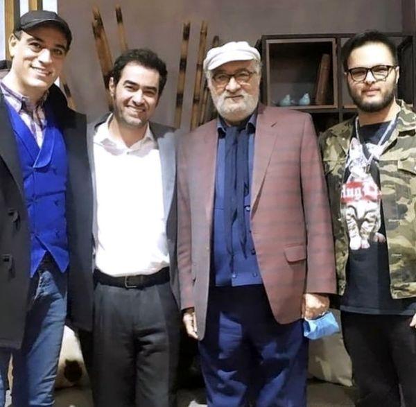 شهاب حسینی و داریوش ارجمند در کنار پسرانشان + عکس