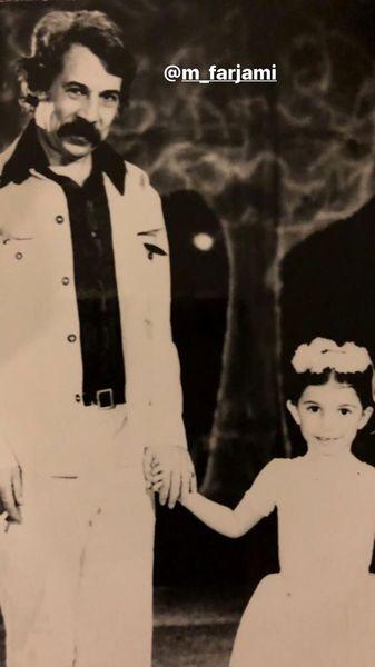 لیلی رشیدی در کودکی + عکس