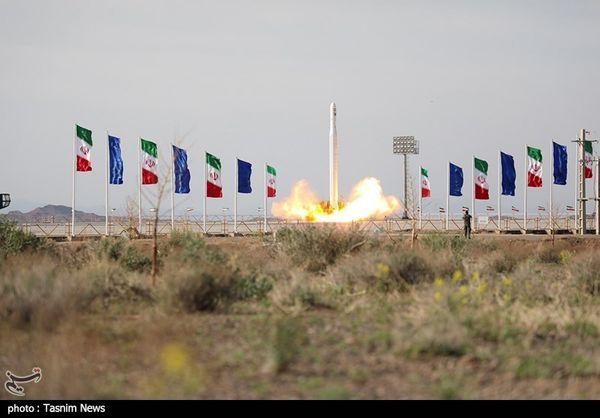 پرتاب ماهواره نور توسط سپاه پاسداران انقلاب اسلامی