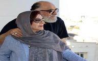 عکس عاشقانه داریوش ارجمند و همسرش