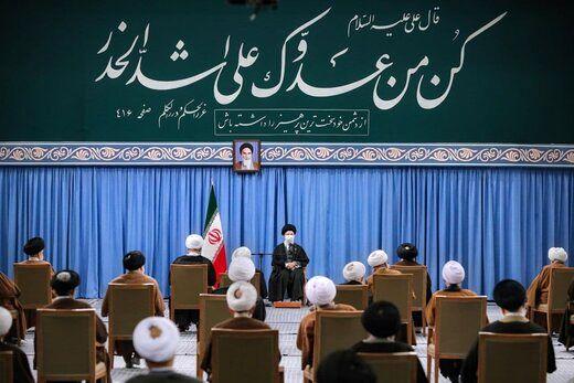 دیدار امروز نمایندگان مجلس خبرگان با رهبر انقلاب+ عکس